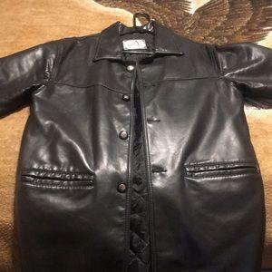 Collezioni Italian leather jacket